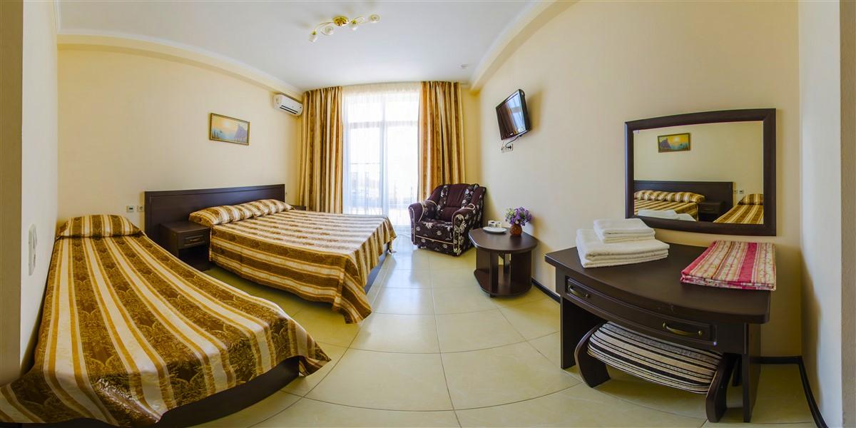 Гостиницы Витязево с Бассейном – Номера класса Люкс(1)